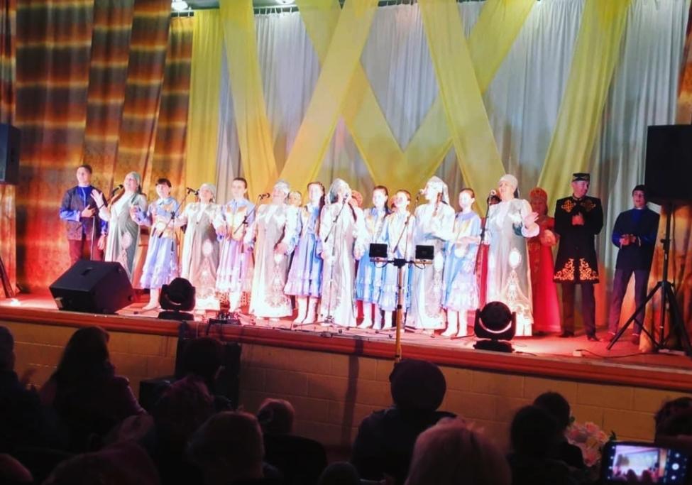 Татарский народный ансамбль «Былбылым» из села Индерка Пензенской области отметил юбилей