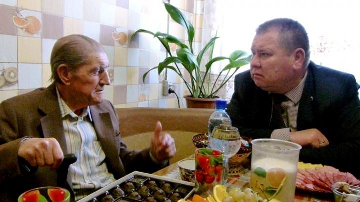 90-летие отметил участник войны Виктор Сергеевич Бадарин из Дубровского