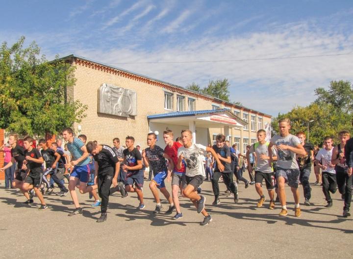 Лопатинцы вместе со всей страной пробежали «Кросс нации»