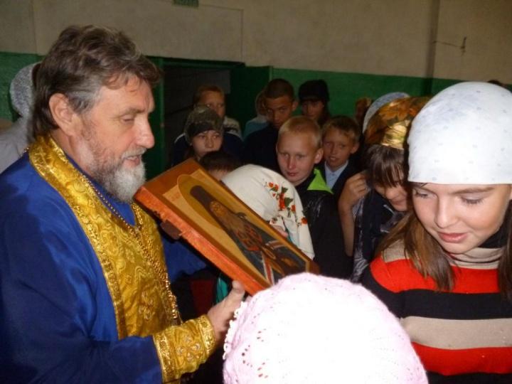 В селе Козловка состоялся праздничный молебен