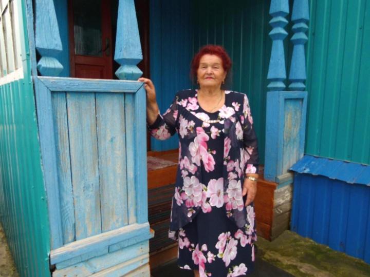 Жительница лопатинского района отметила  90-летие