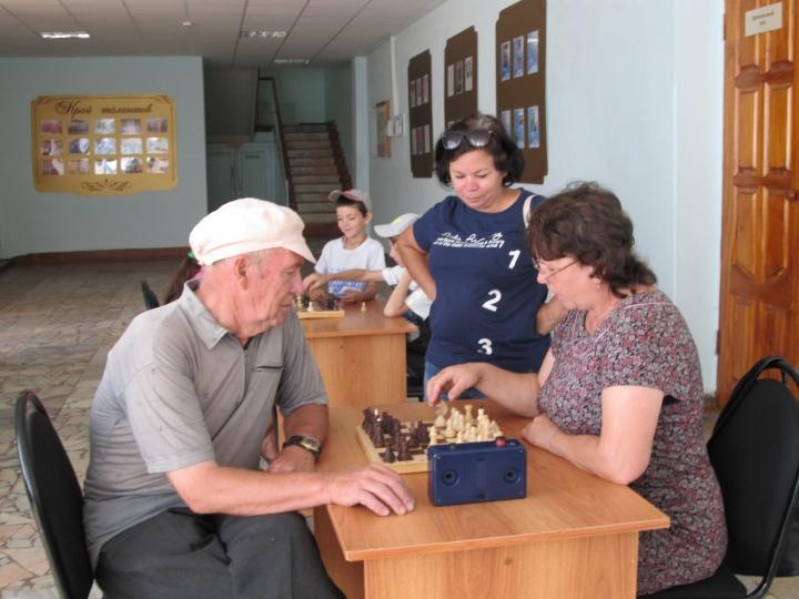20 августа в Лопатине проводился районный этап областной Спартакиады пенсионеров