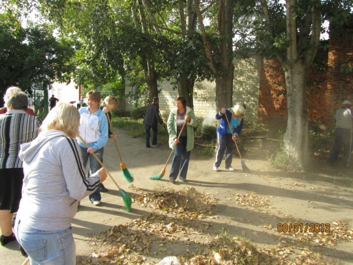 Жители Лопатинского района выйдут на субботник