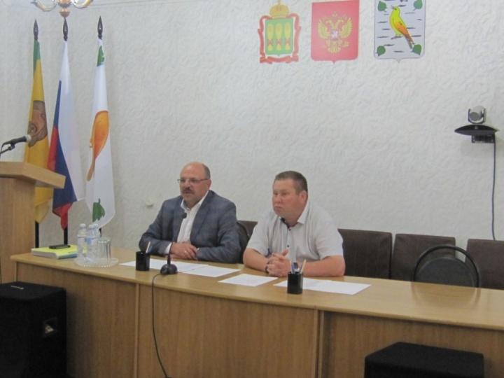 На прошлой неделе Лопатинский район посетил министр здравоохранения Пензенской области Владимир Стрючков
