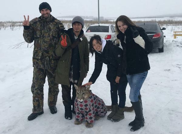 К пуме Месси приехали журналисты из Японии c2ecd0955c6