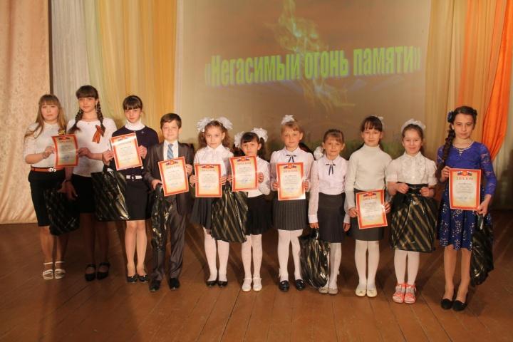 В Лопатинском районе состоялся конкурс военно-патриотической песни «Негасимый огонь памяти»