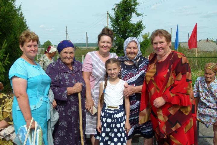 Лопатинская долгожительница отметила большой юбилей