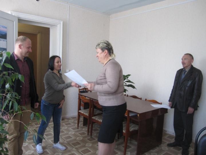 Молодая лопатинская семья улучшит свои жилищные условия