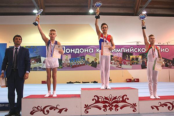 В Пензе завершилось первенство России по спортивной гимнастике