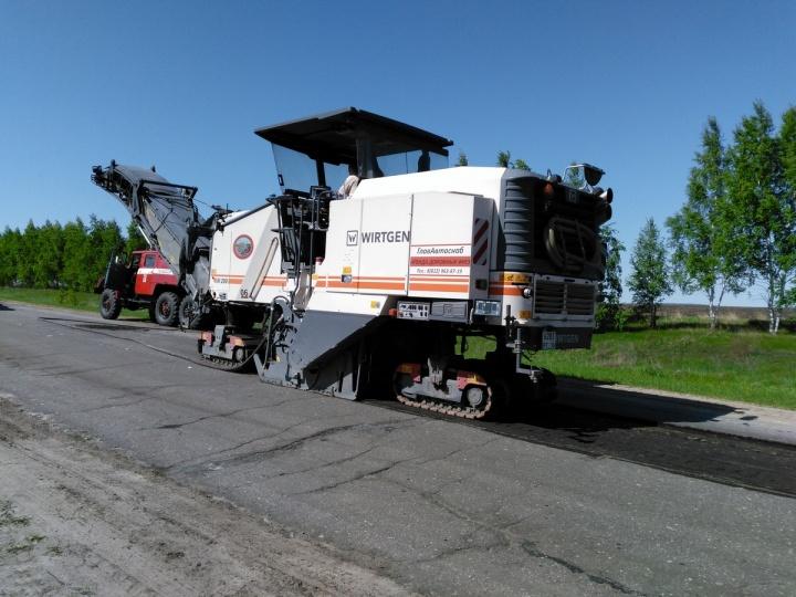 В Лопатинском районе приступили к ремонту дорог