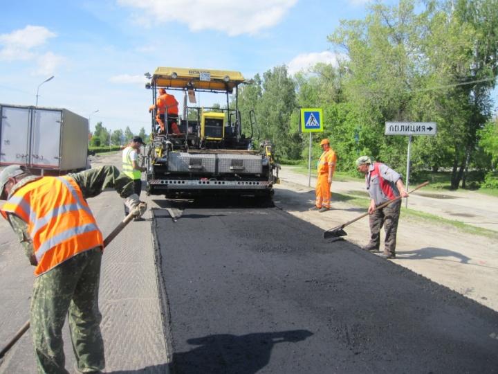 В лопатинском районе с небывалым за последние годы размахом ведётся ремонт дорог
