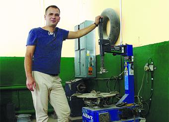 Виктор Бочаров из Городища считает, что предприниматель должен в первую очередь полагаться на свое чутье