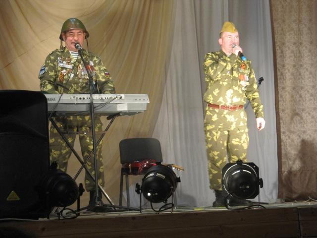 «Зелёные береты» из Башкортостана дали благотворительный концерт в Колышлее