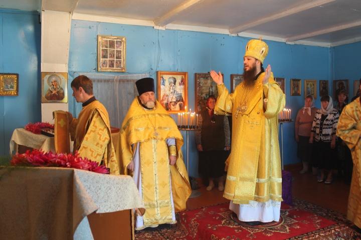 Лопатинский район посетил Преосвященный Нестор, епископ Кузнецкий и Никольский