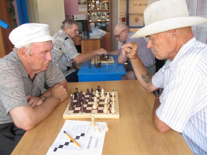 В Лопатинском районе прошёл районный этап областной Спартакиады пенсионеров