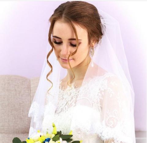 e534400b931ffd1 Свадебная мода – 2018: макияж и прическа невесты, а также мейк-ап ...