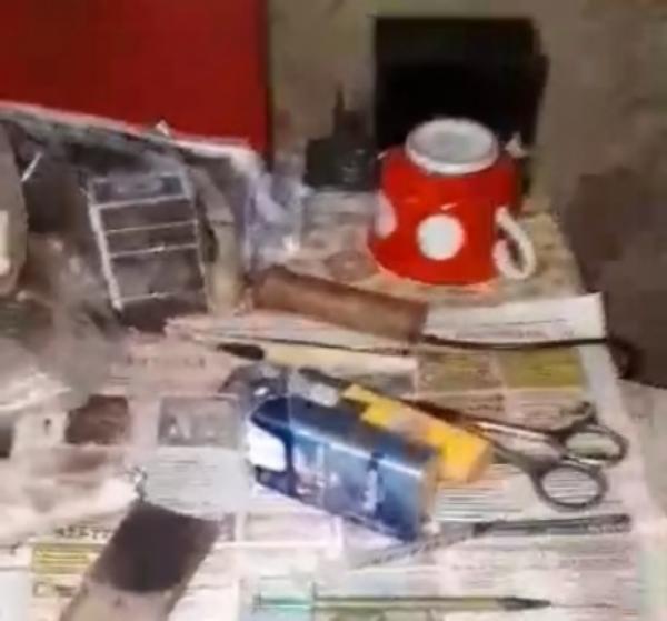 Наркопритон вбане устранили работники милиции Киренска
