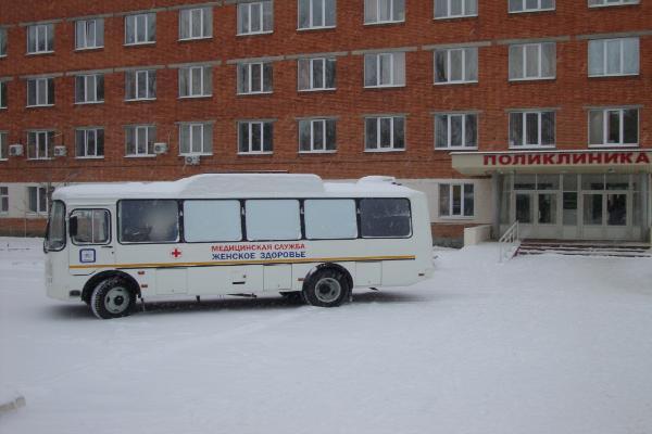 ВПензенскую область поступили передвижные маммографы