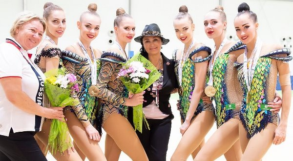 Русские гимнастки привезли 7 золотых наград сЧемпионата Европы