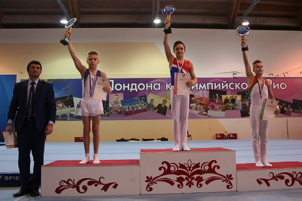 ВПензе пройдет первенство РФ поспортивной гимнастике