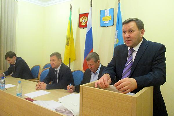 Александр Водопьянов стал главой администрации Городищенского района