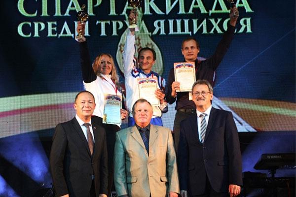 Семья Лукиных стала победителемIV Всероссийской спартакиады трудящихся