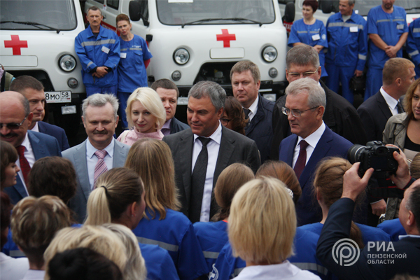 Вячеслав Володин начинает цикл встреч смуниципальными депутатами Саратовской области