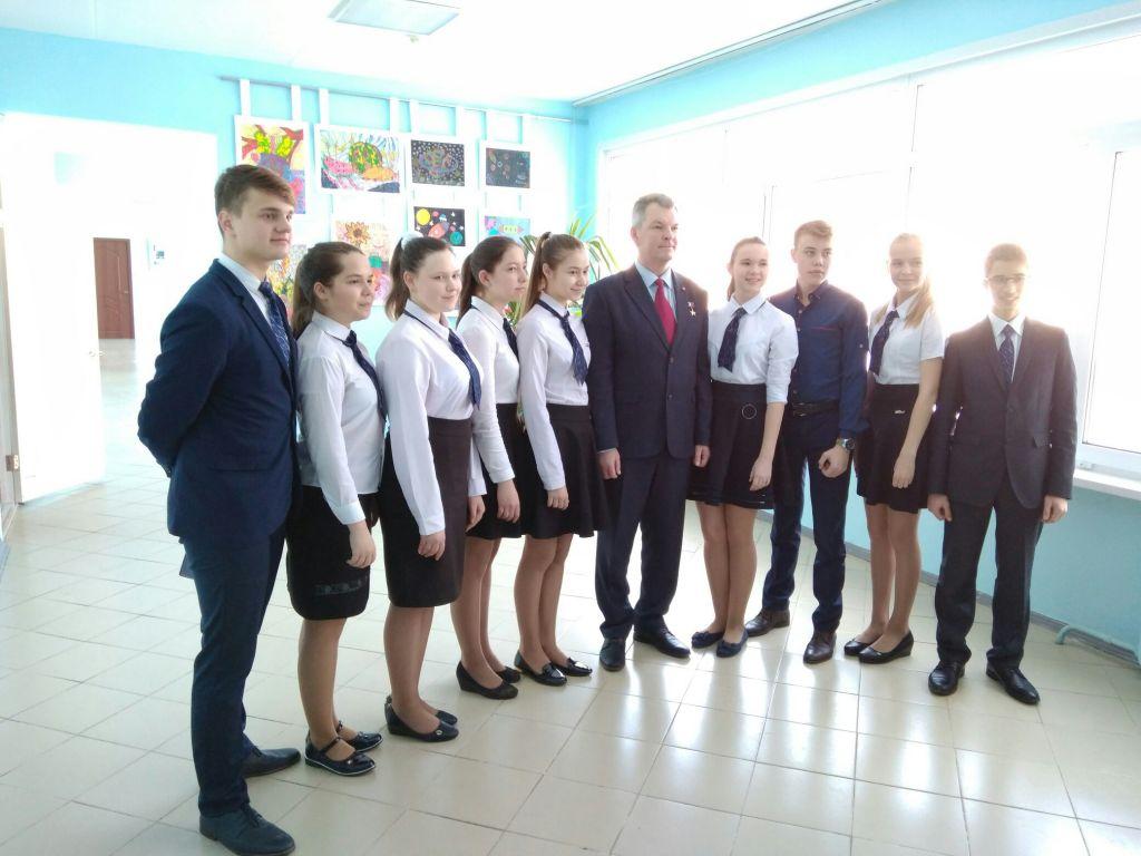ГеройРФ Александр Самокутяев проголосовал вПензе