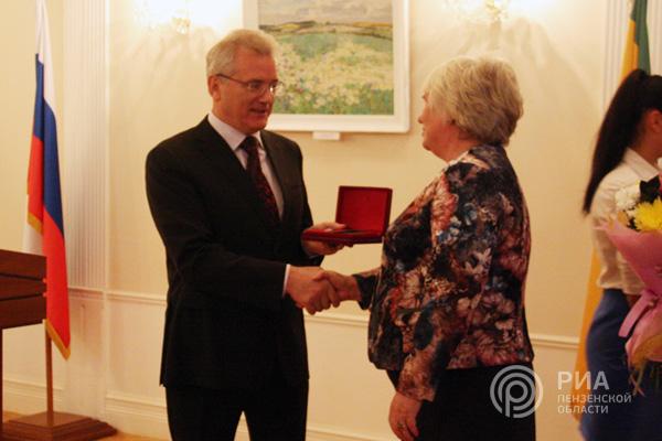 Президент Российской Федерации наградил руководителя Мордовии орденом Александр Невского